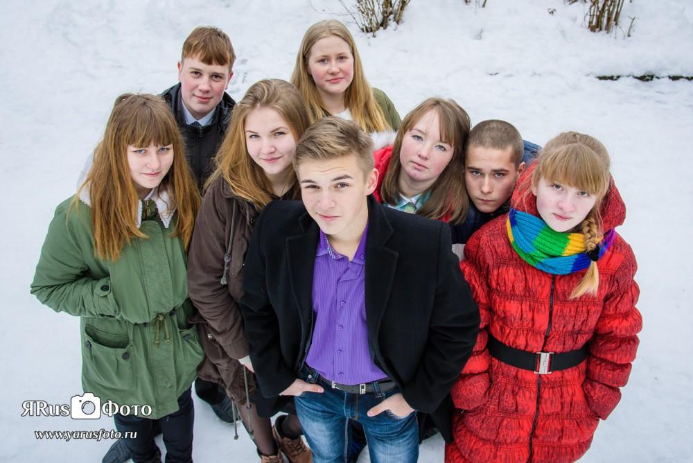 Ш2 9Б Зима ч.3