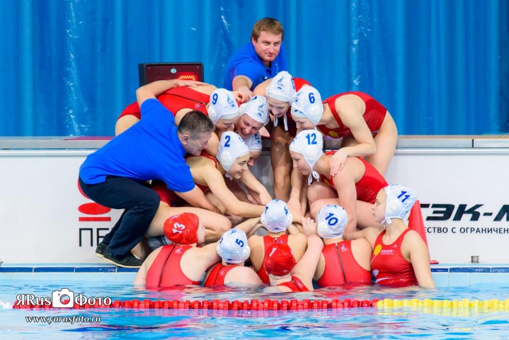 Водное Поло — Чемпионат России (Жен) — 7 тур — День 1 из 5