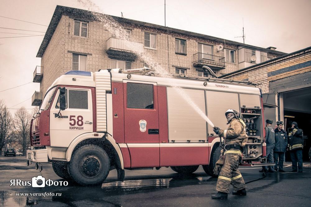 Ш2 1А и 1Б — Пожарная часть