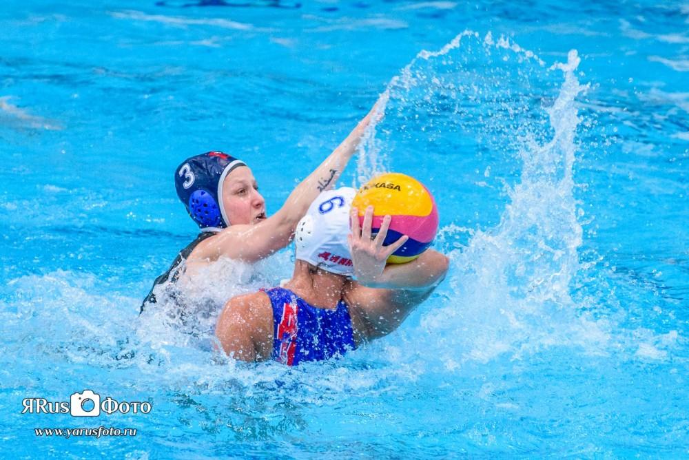 Водное Поло — Чемпионат России (Жен) — 7 тур — День 4 из 5