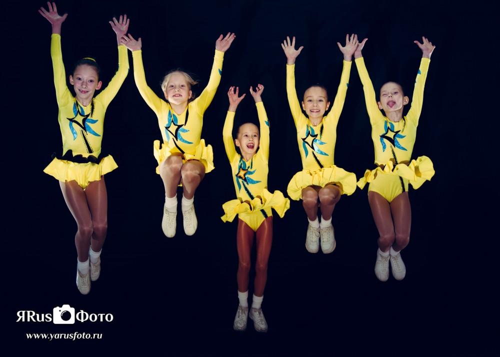 Спортивная Аэробика — Полёты, прыжки и другое. :)