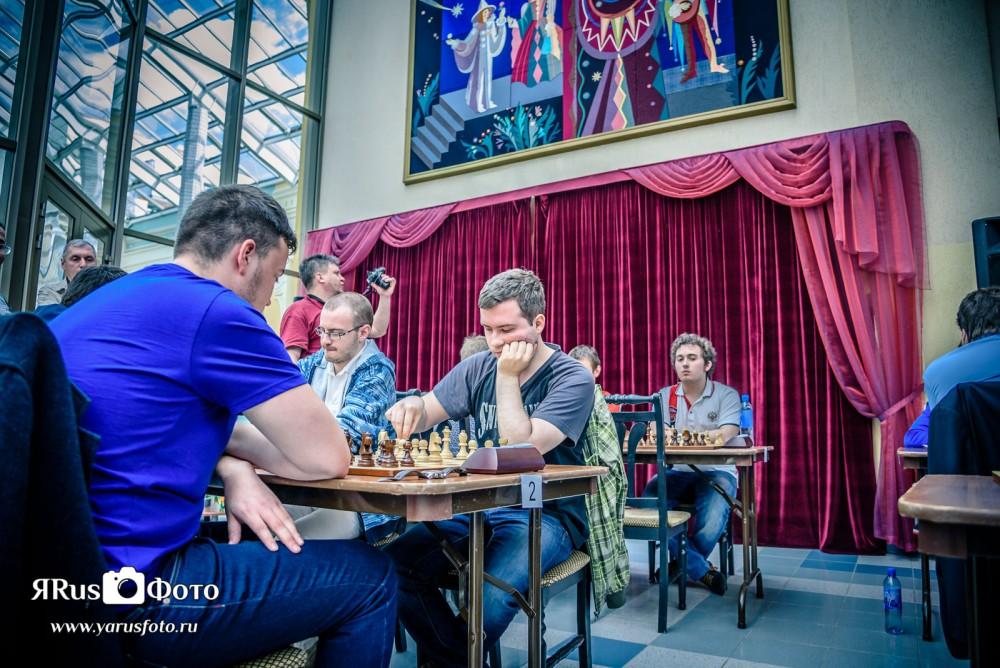 Шахматы — Кубок Несиса 2015 ч.2 из 3