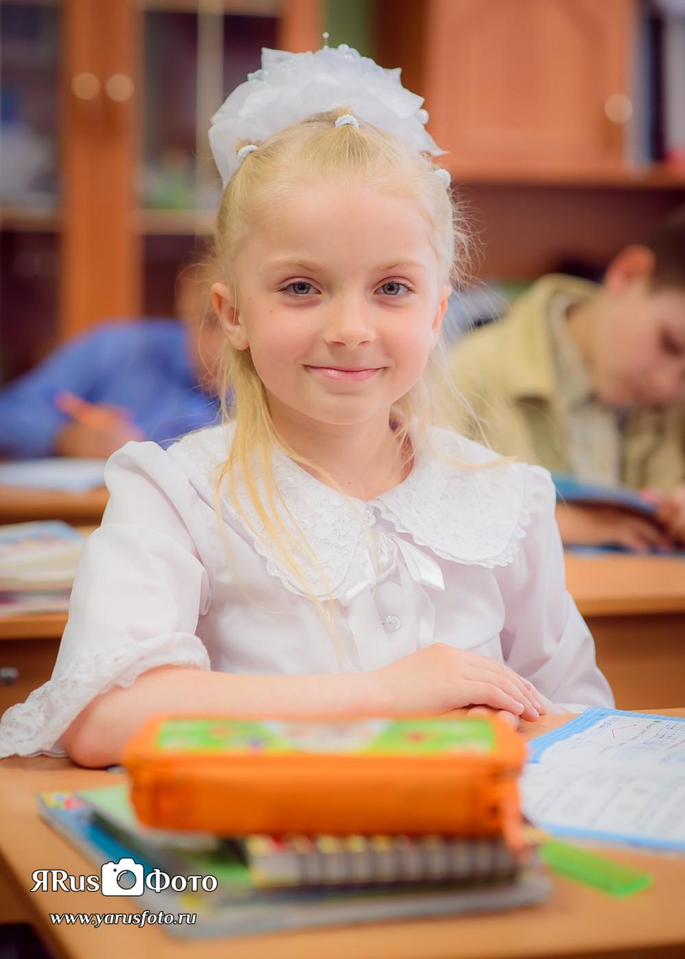 Ш3 2А — Портреты в классе