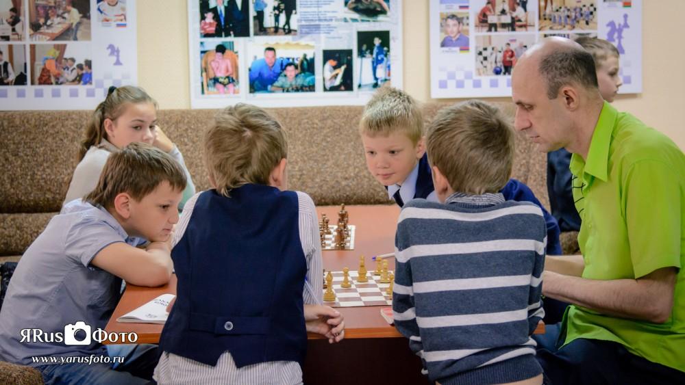 Шахматы — Турнир на 3ий разряд