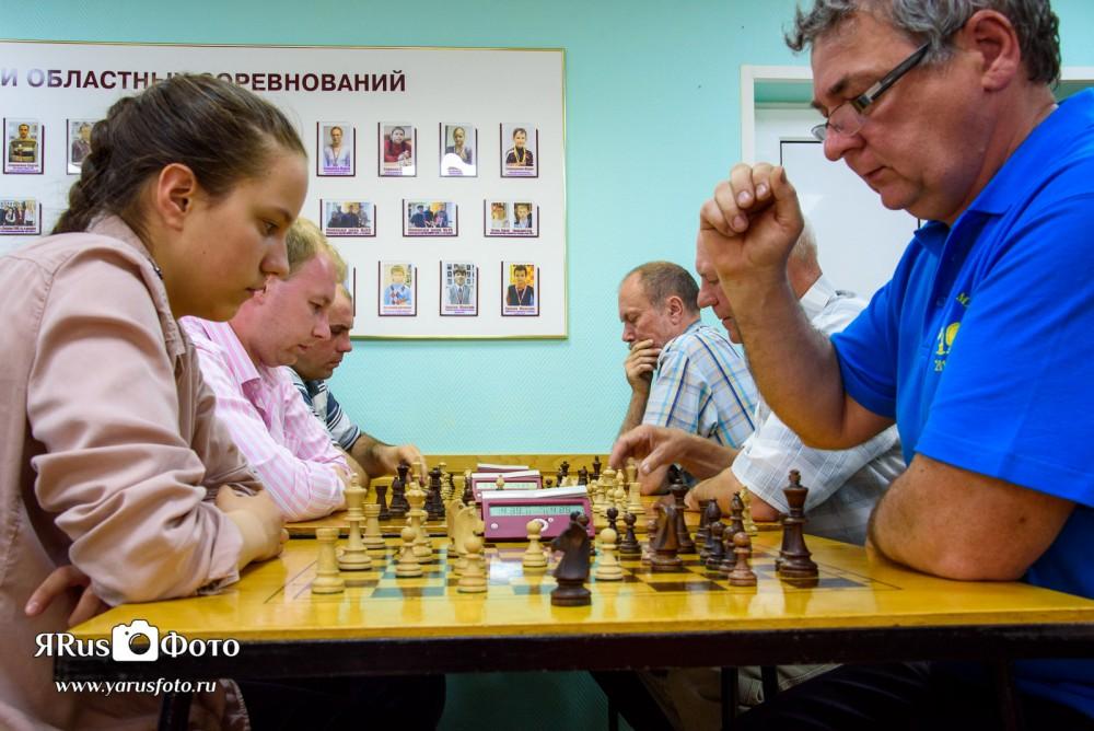 Шахматы — Первенство предприятий 2015