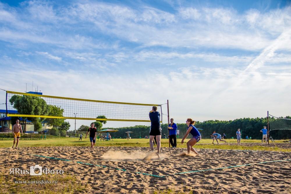 Пляжный волейбол — Кубок Кинеф (день 1 из 3)