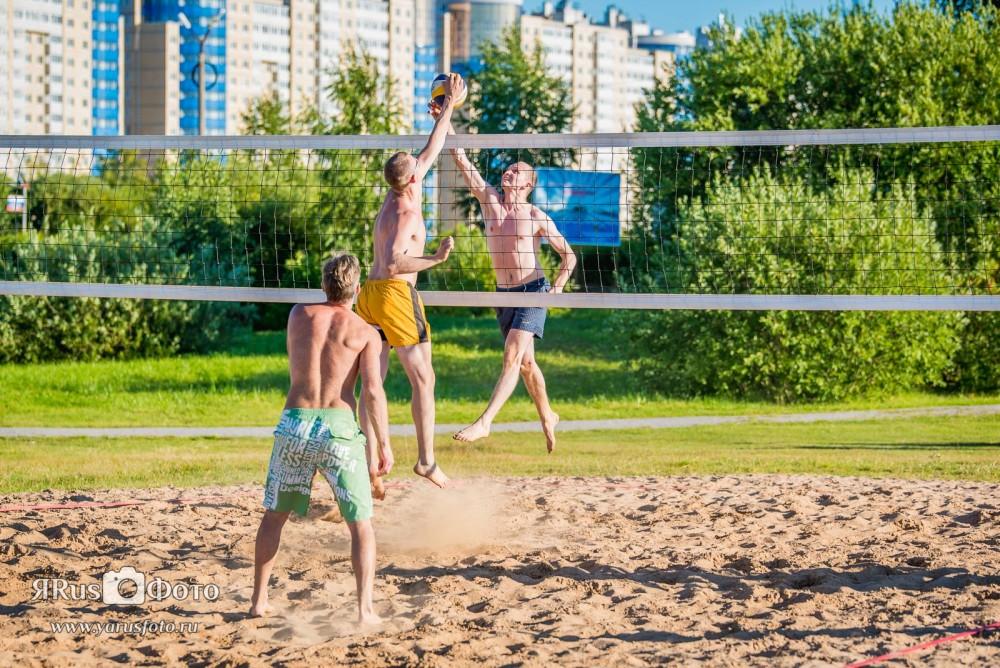 Пляжный волейбол — Кубок Киришского района 2015