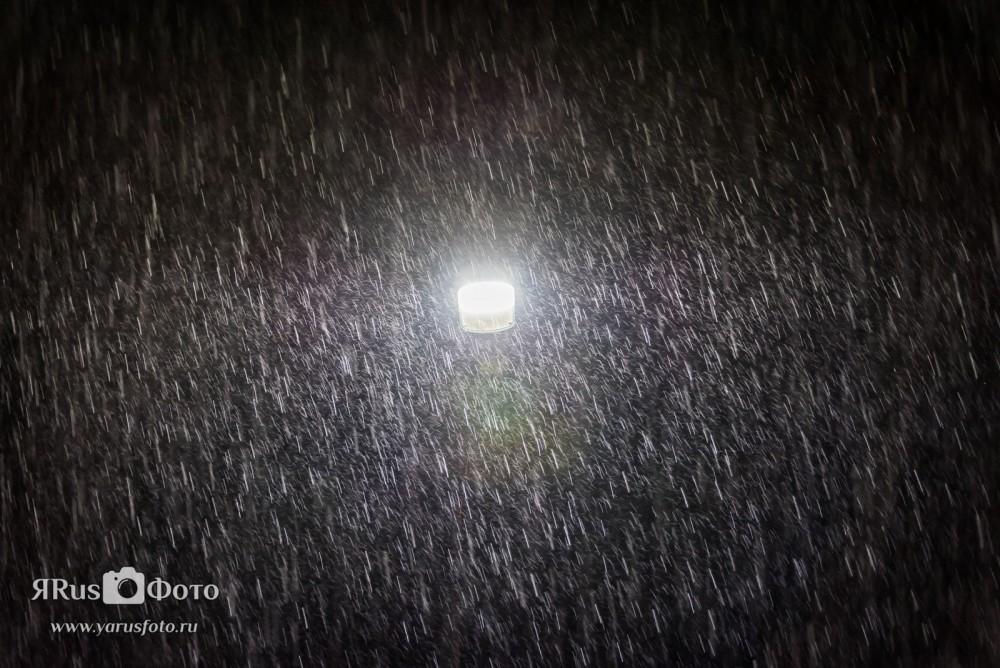 Грозовой ливень в Киришах 12-13 августа 2015г.