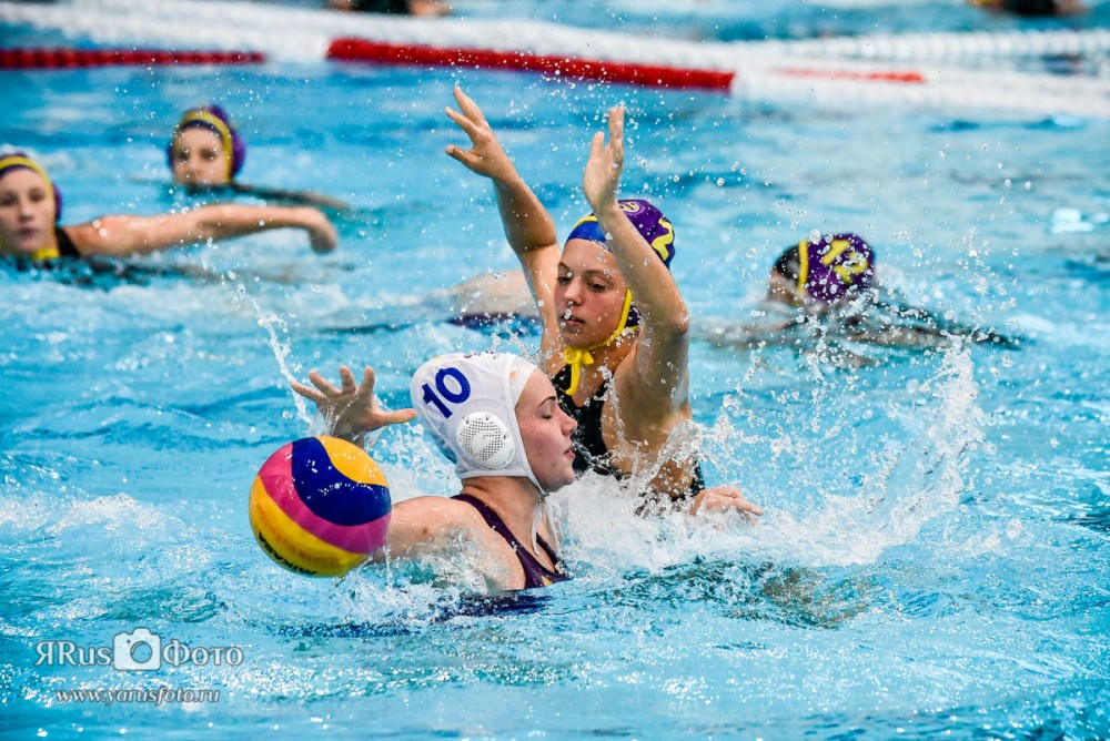 Water Polo — Kirishi Cup 2015 (day 4)