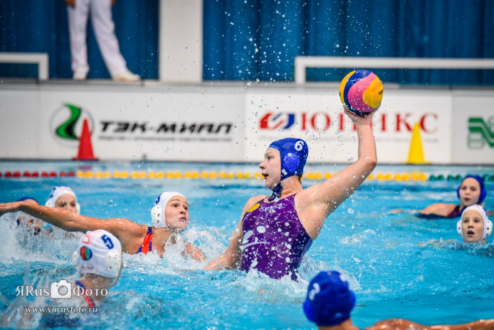 Water Polo — Kirishi Cup 2015 (day 2)