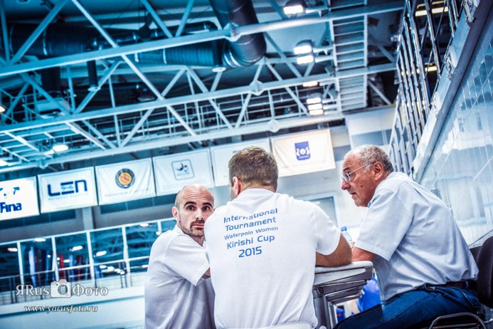 Water Polo — Kirishi Cup 2015 (day 3)