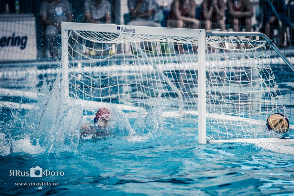Water Polo — Kirishi Cup 2015 (day 1)