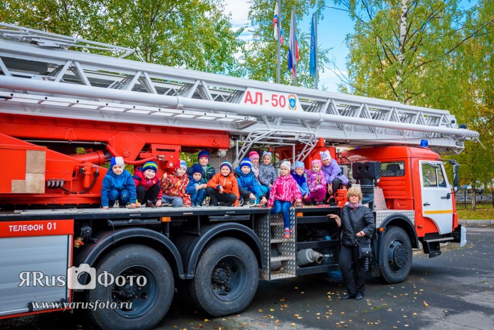 ДС28 — Экскурсия в пожарную часть