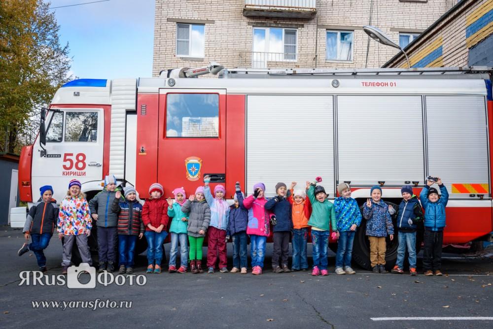 ДС19 — Экскурсия в пожарную часть
