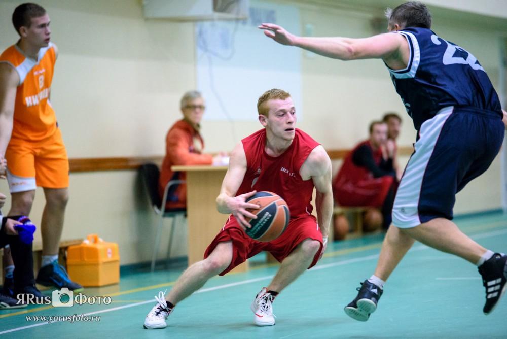 Баскетбол — Первенство Киришского района