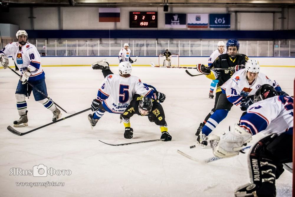 Хоккей — ХК Волхов vs ХК Лодейное Поле