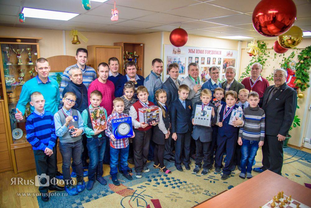 Шахматы — Новогодний семейный турнир