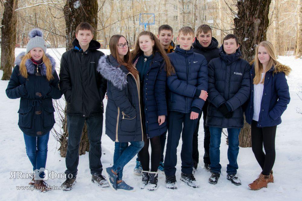 Шк3 9А — Зима