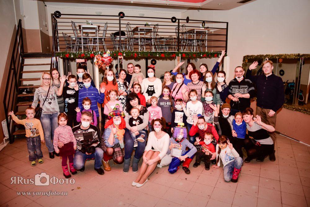 Благотворительная акция для Арсения — клоун Хиха и друзья
