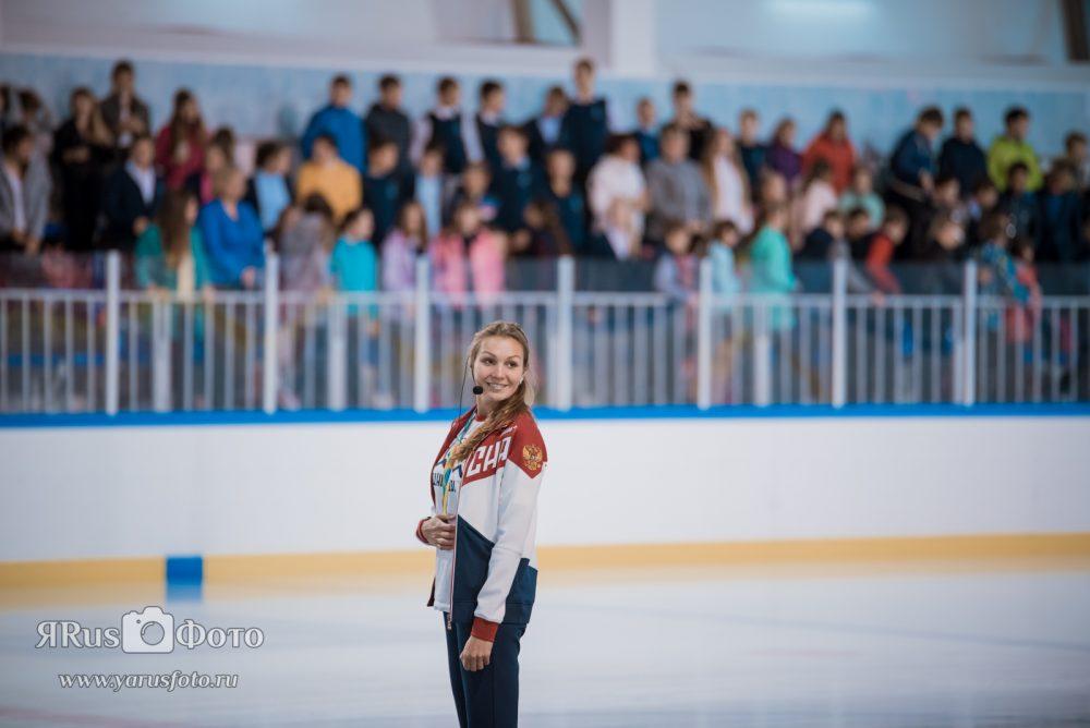 Олимпийская зарядка с Анной Карнаух