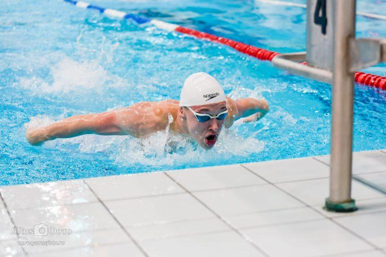 Первенство Ленинградской области по плаванию
