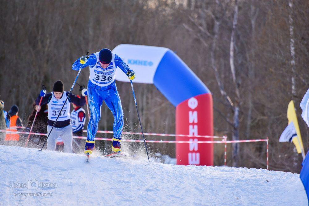 Лыжи — Спартакиада Кинеф